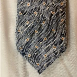 Suitsupply Accessories - Light Blue Suitsupply Tie with Orange Paisley